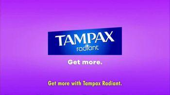 Tampax Radiant TV Spot, 'Get More' - Thumbnail 10