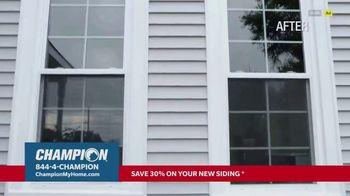 Champion Windows TV Spot, 'Siding: Enhance Your Curb Appeal: 30% Off' - Thumbnail 3