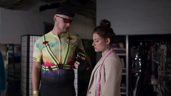 Snickers TV Spot, 'Biker Outfit' Featuring Thomas Pestock