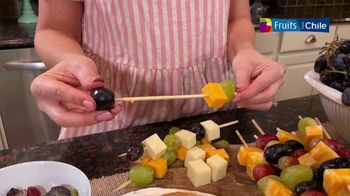 Fruits From Chile TV Spot, 'Chilean Grapes: Nutrition and Usage Ideas' Ft. Annessa Chumbley - Thumbnail 5