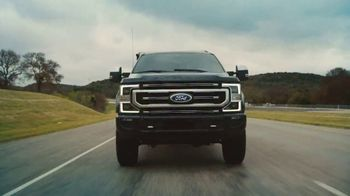 2021 Ford Super Duty TV Spot, 'Truck of the Future: Super Duty' [T2] - 8 commercial airings