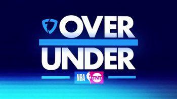 FanDuel TV Spot, 'NBA on TNT: Over or Under'