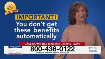 Medicare Benefits Hotline TV Spot, 'New Medicare Benefits: $148 Added Back to Social Security' - Thumbnail 6