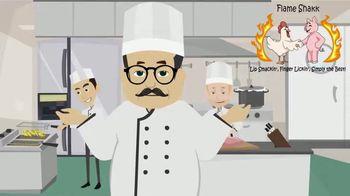 Flame Shakk TV Spot, 'BBQ Sauce That's Just Right'