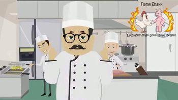 Flame Shakk TV Spot, 'BBQ Sauce That's Just Right' - Thumbnail 2