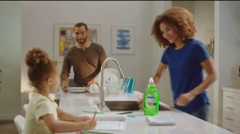 Dawn Antibacterial TV Spot, 'Cuts Through Tough Grease'