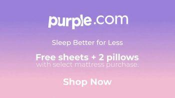 Purple Mattress TV Spot, 'Angry Memory Foam: Free Sheets and Two Pillows' - Thumbnail 10