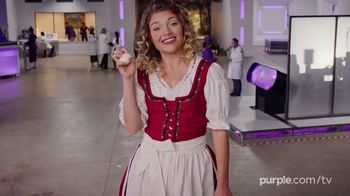 Purple Mattress TV Spot, 'Angry Memory Foam: Free Sheets and Two Pillows' - Thumbnail 4