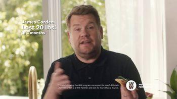 WW TV Spot, 'Pizza: Three Months Free' Featuring James Corden - Thumbnail 6