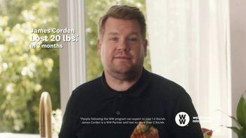 WW TV Spot, 'Pizza: Three Months Free' Featuring James Corden - Thumbnail 7