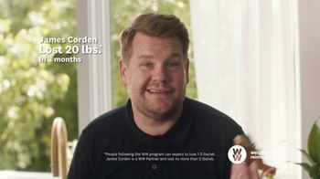 WW TV Spot, 'Pizza: Three Months Free' Featuring James Corden - Thumbnail 8