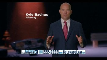 Law Offices of Bachus & Schanker TV Spot, 'Rear Ended at a Red Light' - Thumbnail 5