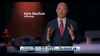 Law Offices of Bachus & Schanker TV Spot, 'Rear Ended at a Red Light' - Thumbnail 7
