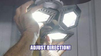 Quadburst TV Spot, 'LED Four-Panel Light'