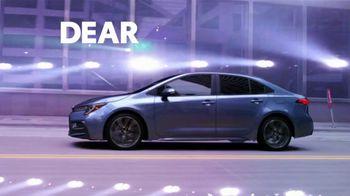 2021 Toyota Corolla TV Spot, 'Dear Catwalk' [T2] - Thumbnail 1