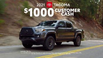 2021 Toyota Tacoma TV Spot, 'Out Front' [T2] - Thumbnail 6