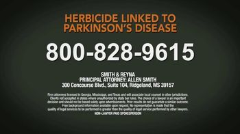 The Smith Law Firm, PLLC TV Spot, 'Herbicide Linked to Parkinson's' - Thumbnail 8