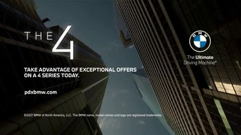 2021 BMW 4 Series Coupe TV Spot, 'Unrivaled Design Meets Pure Power' [T2] - Thumbnail 4