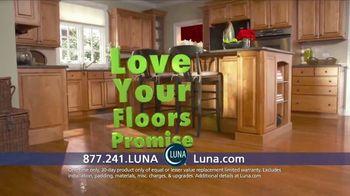 Luna Flooring 70% Off Sale TV Spot, 'Love Your Floors Promise'