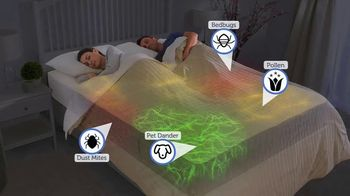 AllerEase Maximum Zippered Mattress Protector TV Spot, 'Protect Your Mattress From Allergens'