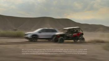 Honda TV Spot, 'Every Road Has Its Challenges: Passport, Pilot, CR-V' Song by Vampire Weekend [T2] - Thumbnail 2