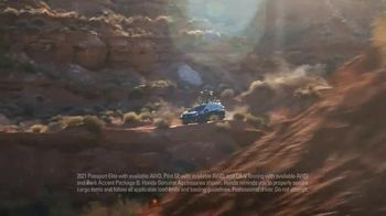 Honda TV Spot, 'Every Road Has Its Challenges: Passport, Pilot, CR-V' Song by Vampire Weekend [T2] - Thumbnail 4