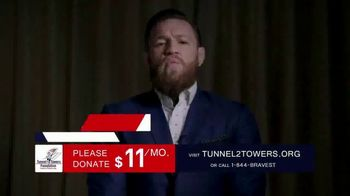 Stephen Siller Tunnel to Towers Foundation TV Spot, 'Brandon Adam' featuring Conor McGregor - Thumbnail 2