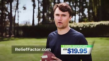 Relief Factor Quickstart TV Spot, 'Tracy's Testimonial' Featuring Charlie Kirk - Thumbnail 8
