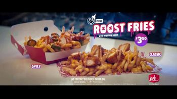 Jack in the Box Roost Fries TV Spot, 'French Fries With Cheese: $3.50' Featuring Jason Derulo - Thumbnail 8