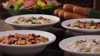 Olive Garden Never Ending Soup, Salad and Breadsticks TV Spot, 'Primer plato ilimitado' [Spanish] - Thumbnail 3