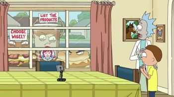 Wendy's 2 for $4 Breakfast TV Spot, 'Rick and Morty: Choose Wisely' - Thumbnail 8