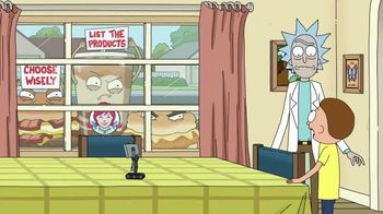 Wendy's 2 for $4 Breakfast TV Spot, 'Rick and Morty: Choose Wisely' - Thumbnail 9