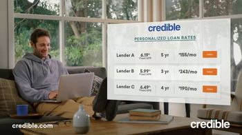 Credible TV Spot, 'Credit Card Debt: Personalized Rates'