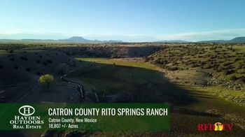 Hayden Outdoors TV Spot, 'Catron County Rito Springs Ranch' - 24 commercial airings