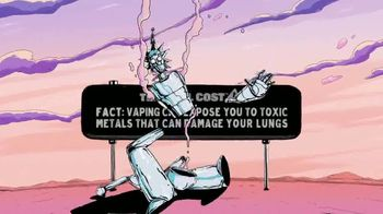 The Real Cost TV Spot, 'Rick & Morty: Vaping and Toxic Metals' - Thumbnail 10