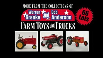 Mecum Gone Farmin' On Time TV Spot, 'Warren Granke and Bob Anderson Collections'