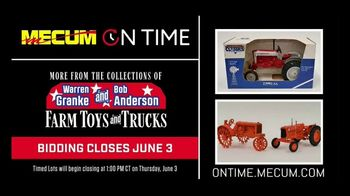 Mecum Gone Farmin' On Time TV Spot, 'Warren Granke and Bob Anderson Collections' - Thumbnail 7