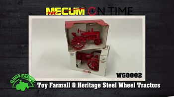 Mecum Gone Farmin' On Time TV Spot, 'Warren Granke and Bob Anderson Collections' - Thumbnail 2