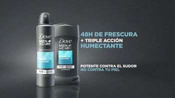 Dove Men +Care TV Spot, 'Nelson: Dry Spray' [Spanish] - Thumbnail 6