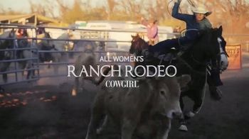 2021 Art of the Cowgirl Summer Event TV Spot, 'All Woman Ranch Rodeo'
