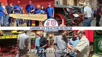 American Tractor Museum TV Spot, 'Fundraising Event With Max Armstrong'
