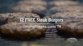 Omaha Steaks TV Spot, 'Grilling Wisdom: 12 Free Burgers' - Thumbnail 9