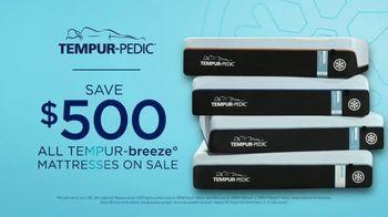 Tempur-Pedic Summer of Sleep TV Spot, 'No More Hot Sleep: Save $500' - Thumbnail 9