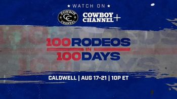Cowboy Channel Plus TV Spot, '100 Rodeos in 100 Days' - Thumbnail 10