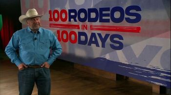 Cowboy Channel Plus TV Spot, '100 Rodeos in 100 Days'