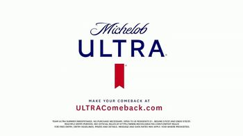 Michelob ULTRA Team ULTRA Summer Sweepstakes TV Spot, 'ULTRA Comeback: New Moves' - Thumbnail 8