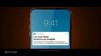 PNC Financial Services TV Spot, 'Low Cash Mode: Financial Watch Out' - Thumbnail 6