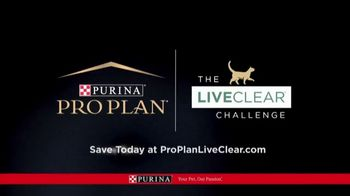 Purina Pro Plan LiveClear TV Spot, 'LiveClear Challenge: Cat Allergens' - Thumbnail 9