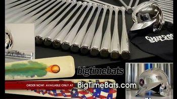 Big Time Bats Chrome Splash TV Spot, 'Dustin Pedroia Career Stat Silver Chrome Bat'