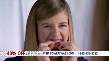 Power Swabs 4th of July Special TV Spot, 'Clinically Studied' - Thumbnail 1